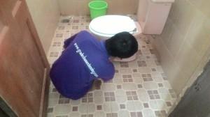 Jasa bersih toilet atau salon toilet di Bandung